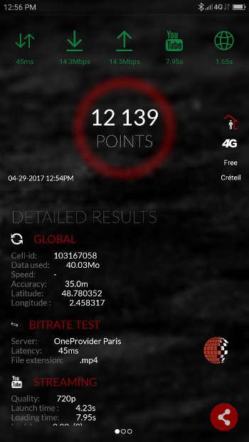 Test Lenovo ZUk Z2 - 4G