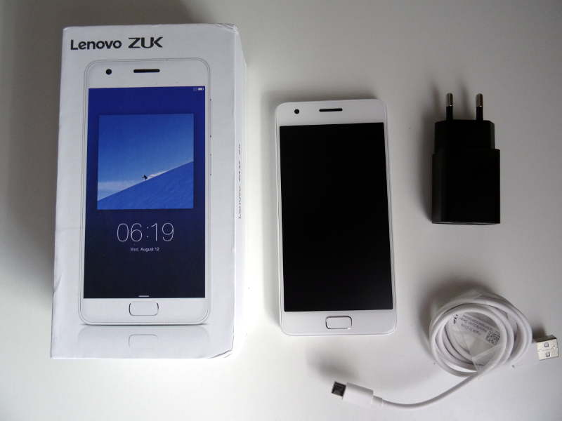 Test Lenovo ZUk Z2 - package