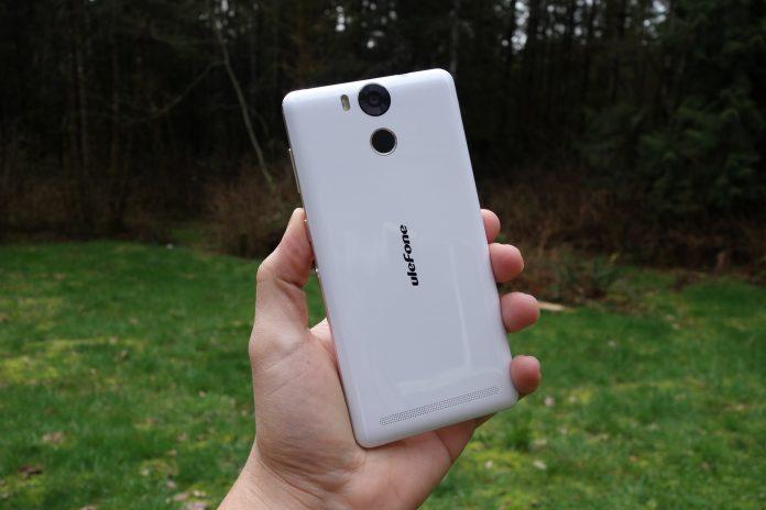 Ulefone power dos du smartphone