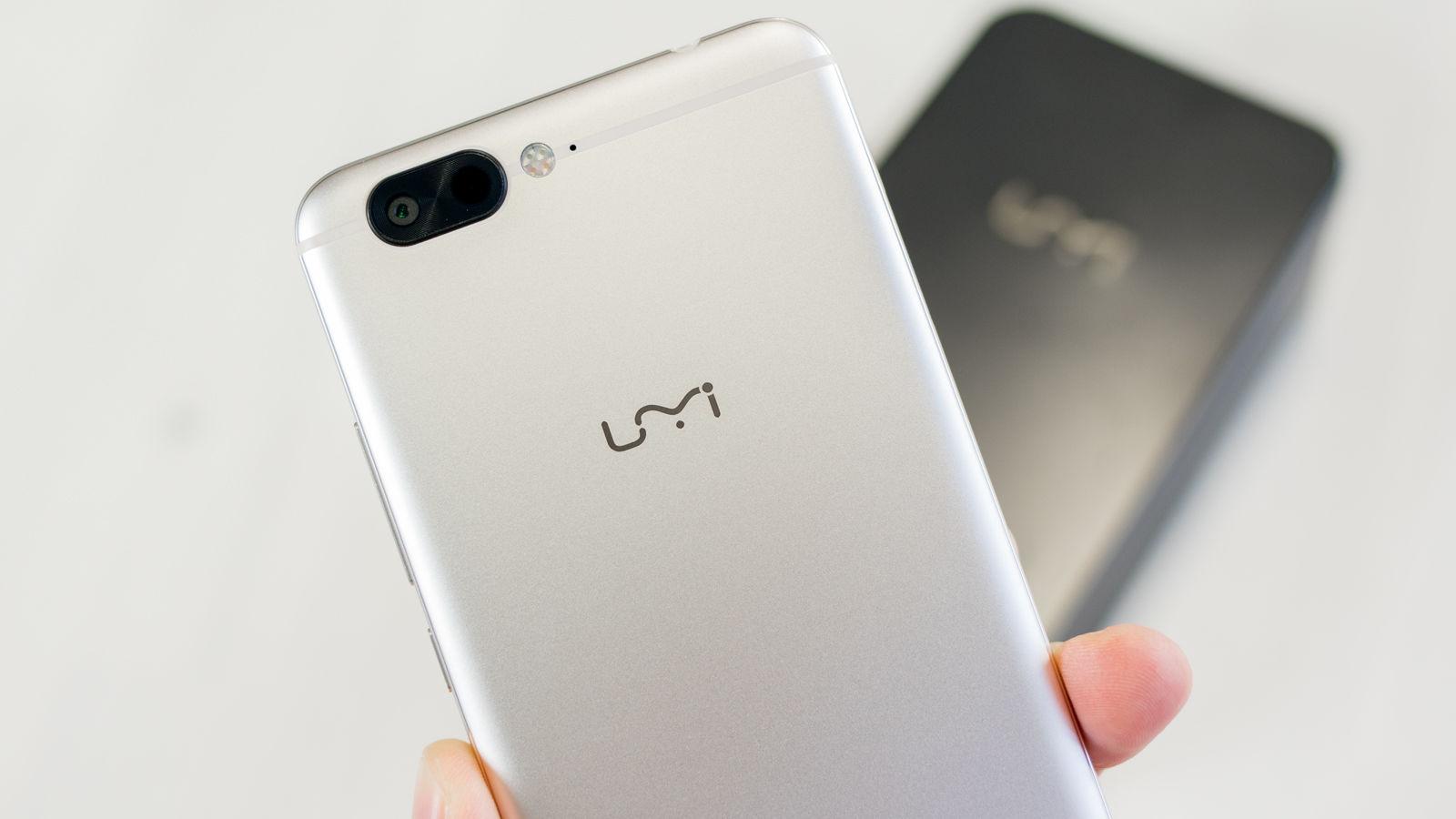 Umi Z Test face arrière en aluminium
