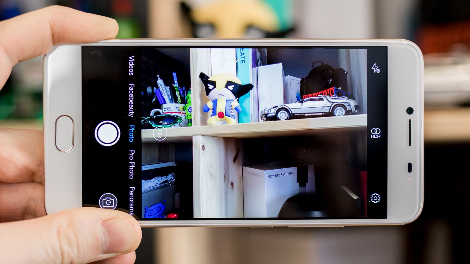 Umi Z Test prise de photo