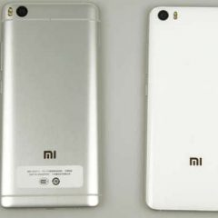 Xiaomi Mi5 VS Mi5s