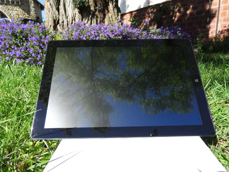 cTest Teclast X5 Pro écran