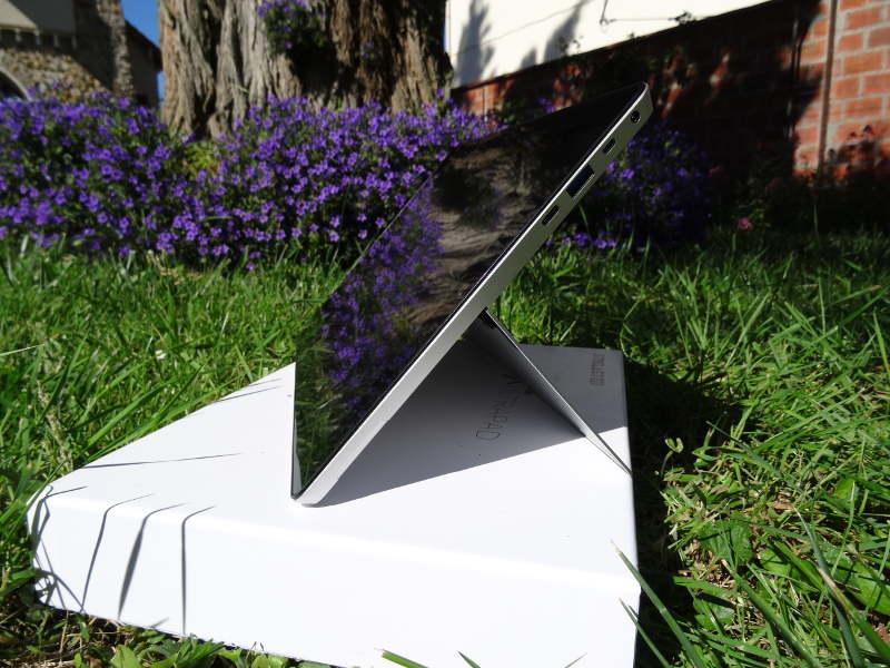 Test Teclast X5 Pro système de tenue verticale