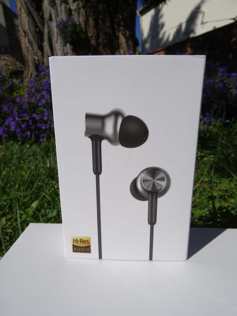 Test Xiaomi Hybrid In Ear Pro boite