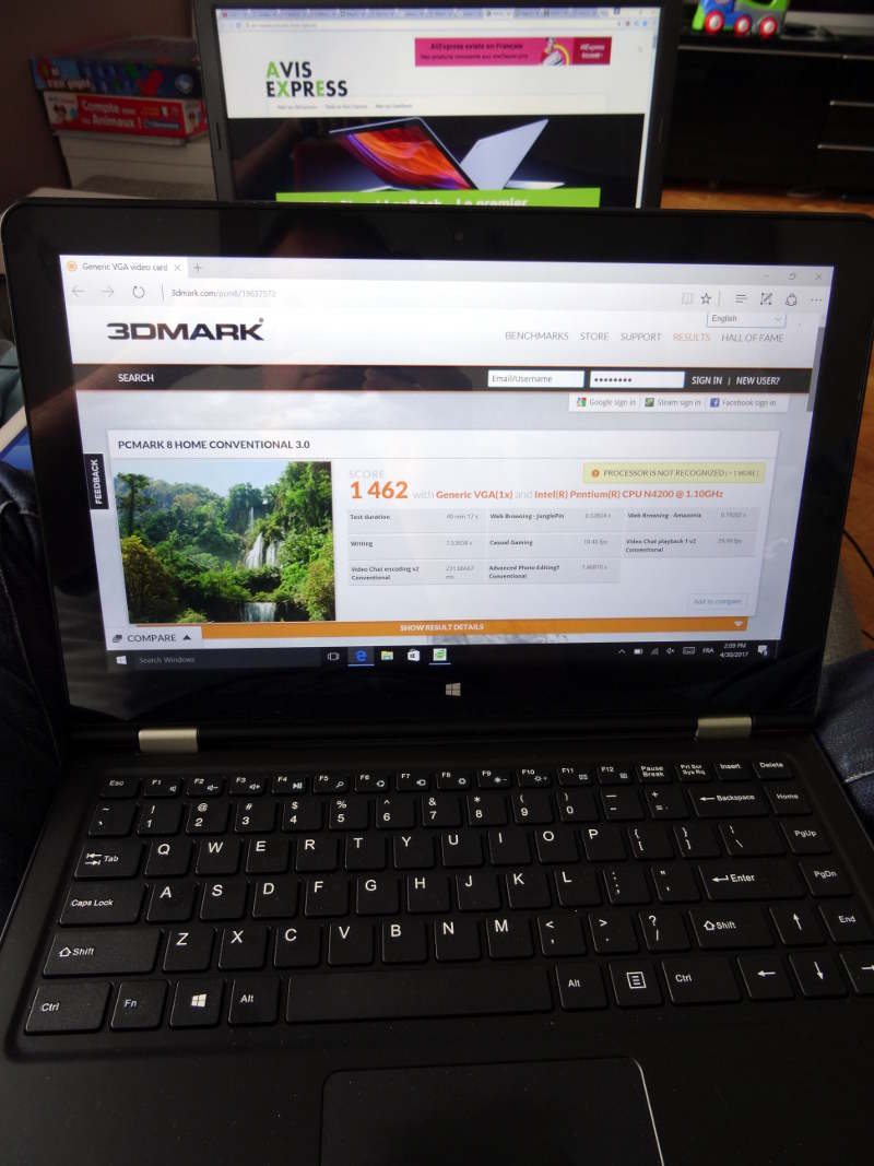 Test de l'ultrabook haut de gamme VOYO VBook V3 version N4200
