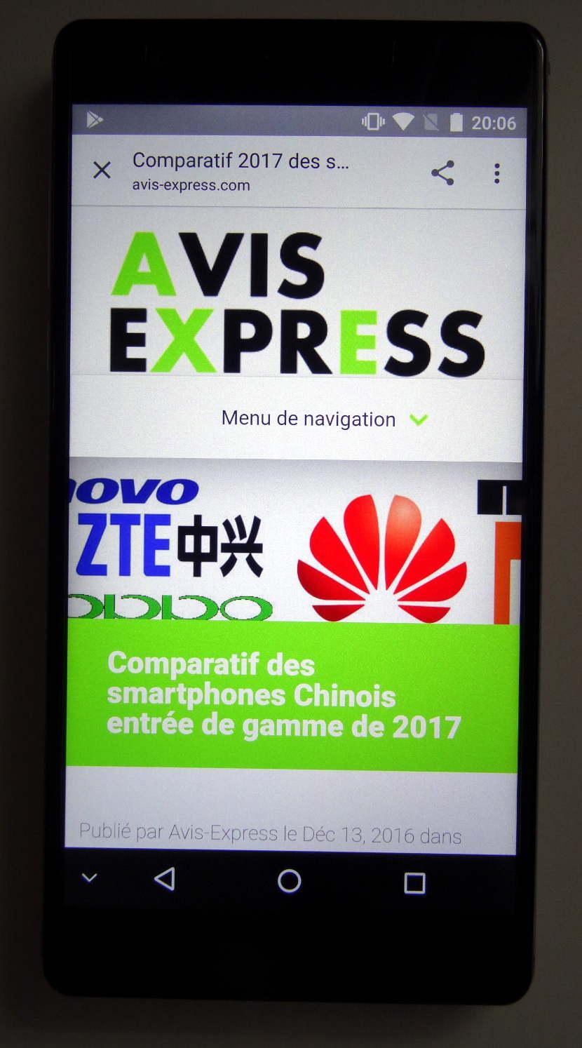 Oukitel U13 - écran avis express