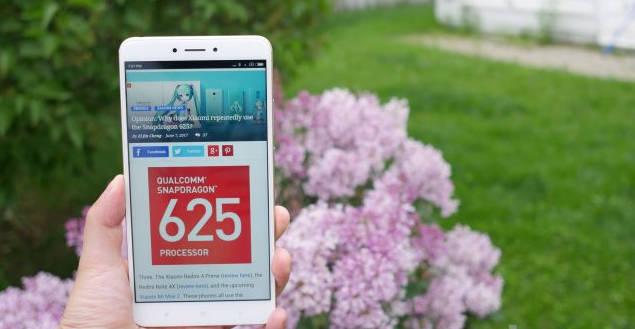 Xiaomi Mi Max 2 - snapdragon 625