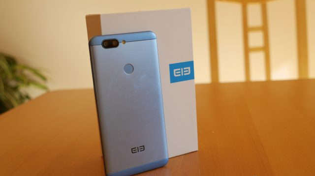 elephone p8 mini package