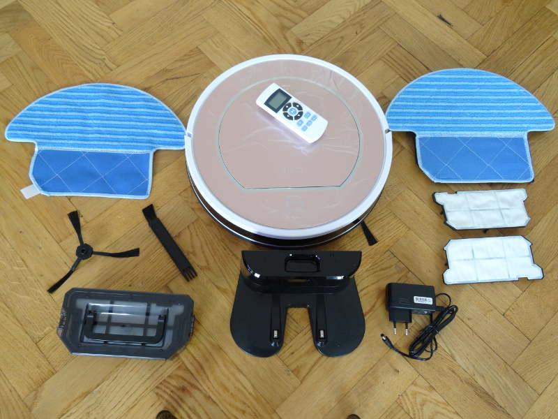 iLife V7S Pro - Aspirateur robot et accessoires