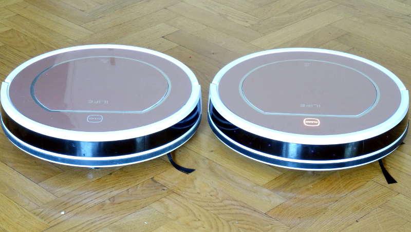 iLife V7S Pro VS V7S - capteurs détecteur obstacle