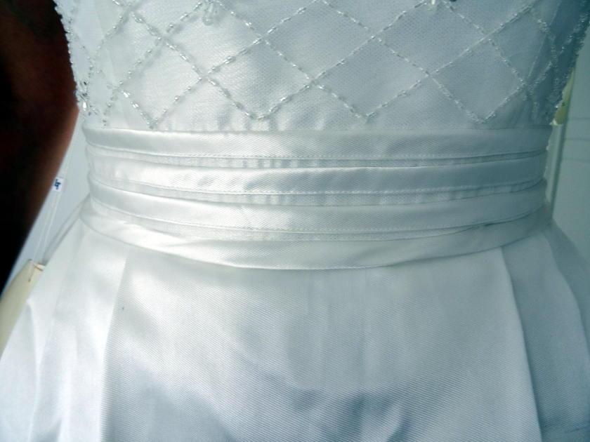 Robe de mariée lightinthebox - ceinture