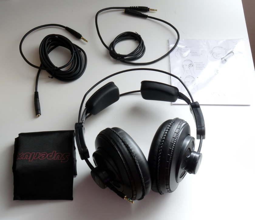 Superlux HD668B - accessoires