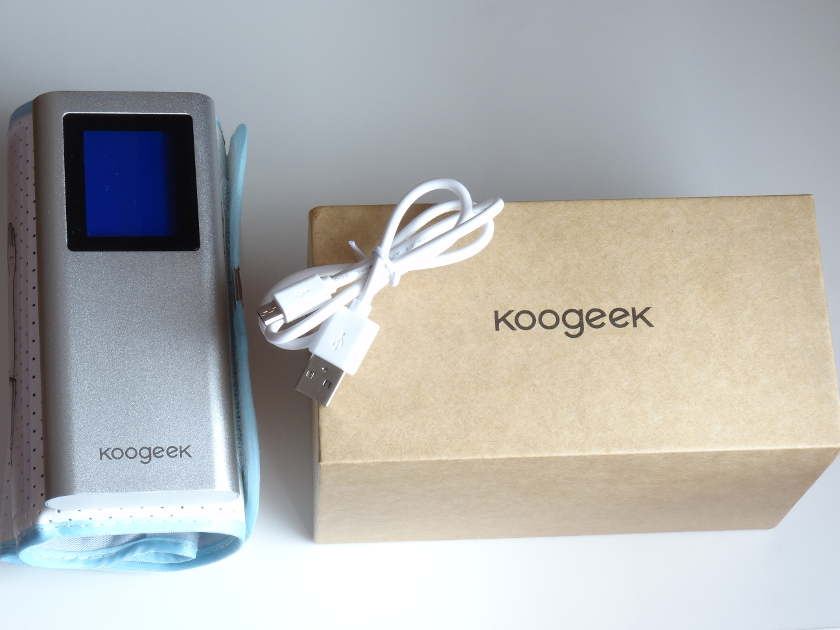 Tensiomètre Koogeek BP2 - boite et contenu