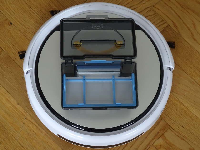 iLife v5 - bac a poussiere et filtre a air