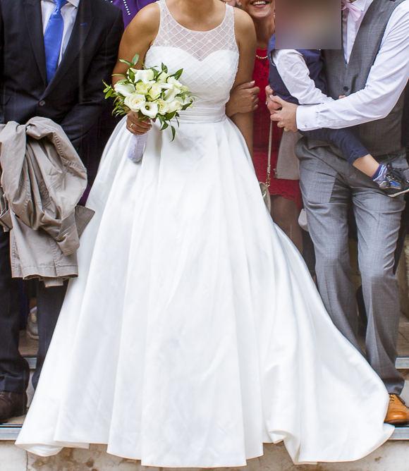 notre robe de mariée lightinthebox après repassage