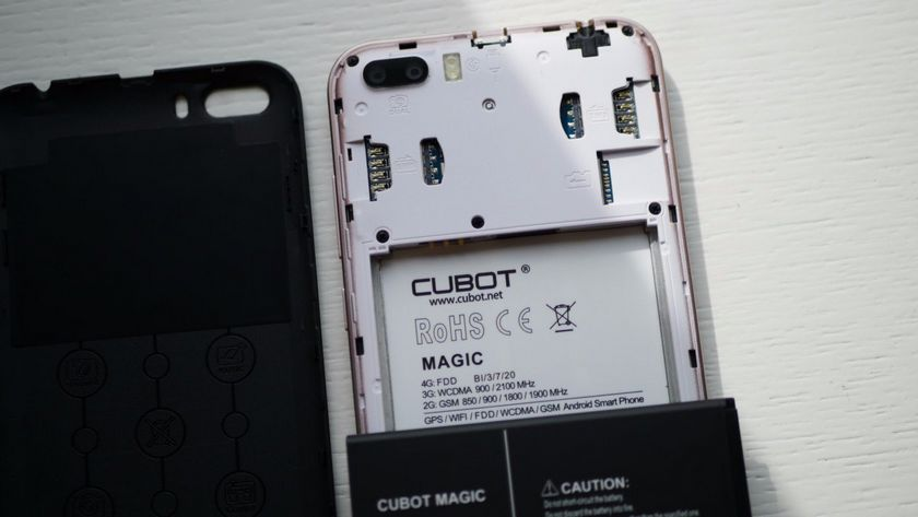 Test du Cubot Magic