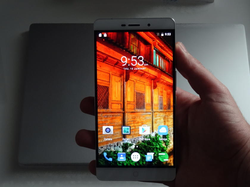 Elephone P9000 - ecran accueil
