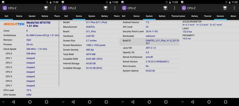 Test Oukitel U11 Plus 0009