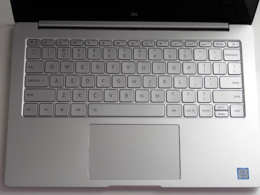 Xiaomi Air 13 clavier QWERTY