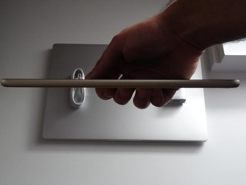 Xiaomi Mi Pad 3 - epaisseur bouton