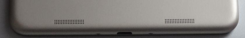 Xiaomi Mi Pad 3 - hauts parleur