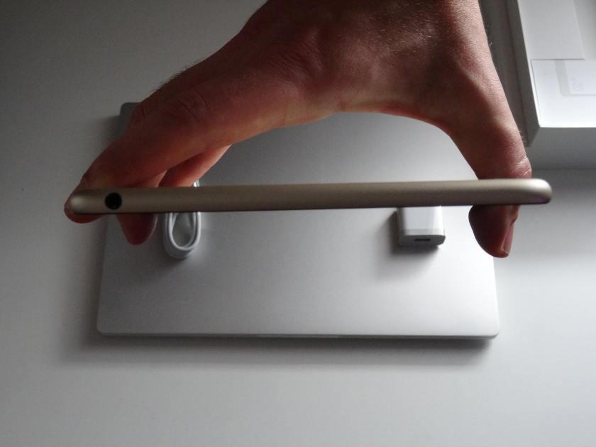 Xiaomi Mi Pad 3 - prise jack