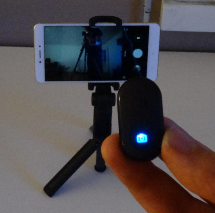 Xiaomi Selfie stick déclenchement à distance