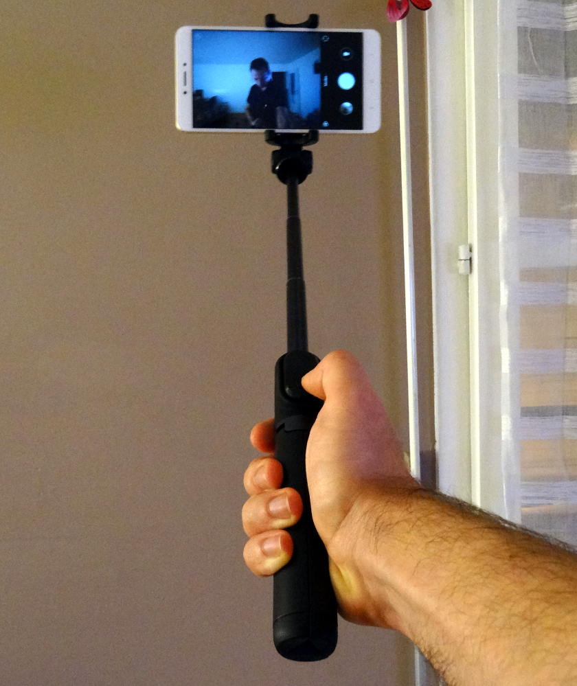 Xiaomi Selfie stick perche étendue