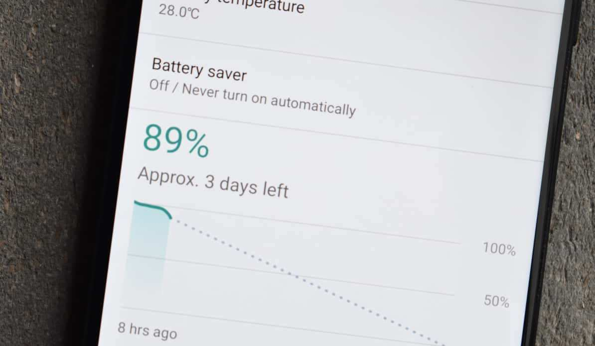 Elephone-S8-batterie