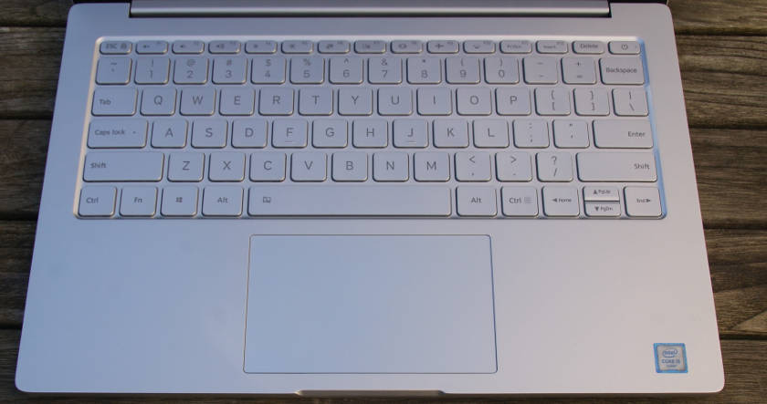 PC Portable Xiaomi air 12 trackpad et clavier QWERTY