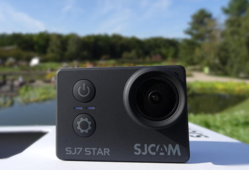 Test SJCAM SJ7 Star - actioncam capteur photo bouton power