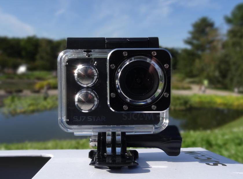 Test SJCAM SJ7 Star - actioncam dans caisson étanche