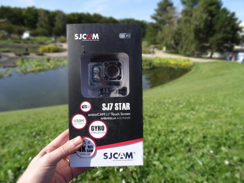 Test SJCAM SJ7 Star - boite