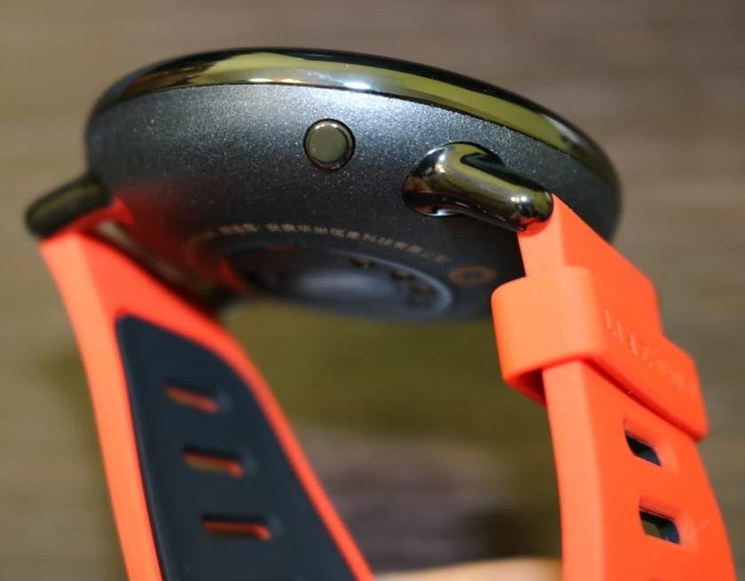 Xiaomi Amazfit - bouton allumage ecran tactile