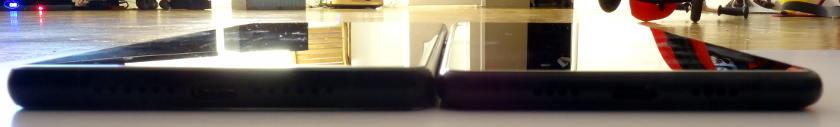 Xiaomi Mi Mix 2 VS Maze Alpha haut parleur