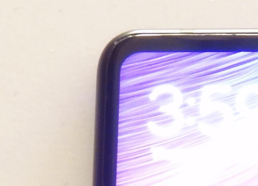 Xiaomi Mi Mix 2 - bordeures de l'ecran