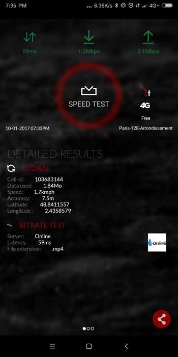 Xiaomi Mi Mix 2 test 4G