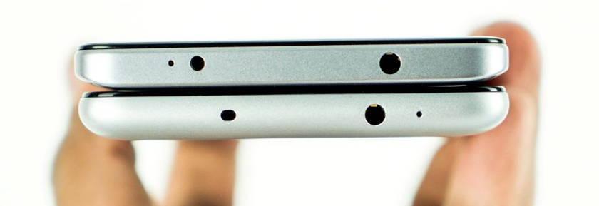 Xiaomi-Redmi-Note-4-vs-Redmi-Note-3-épaisseur prise jack
