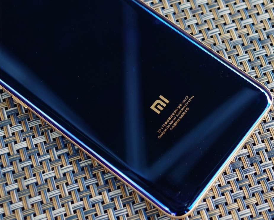 Xiaomi mi Note 3 - arriere du smartphone