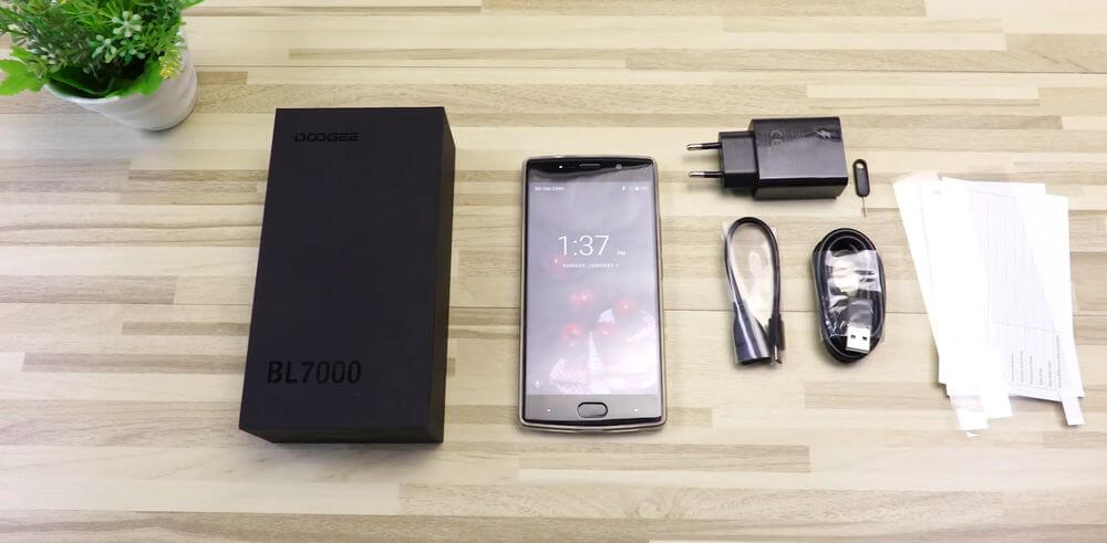 doogee-bl7000-test package