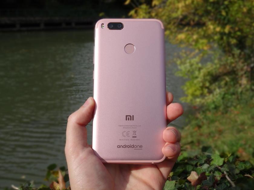 Test Xiaomi Mi A1 - coque arriere aluminium
