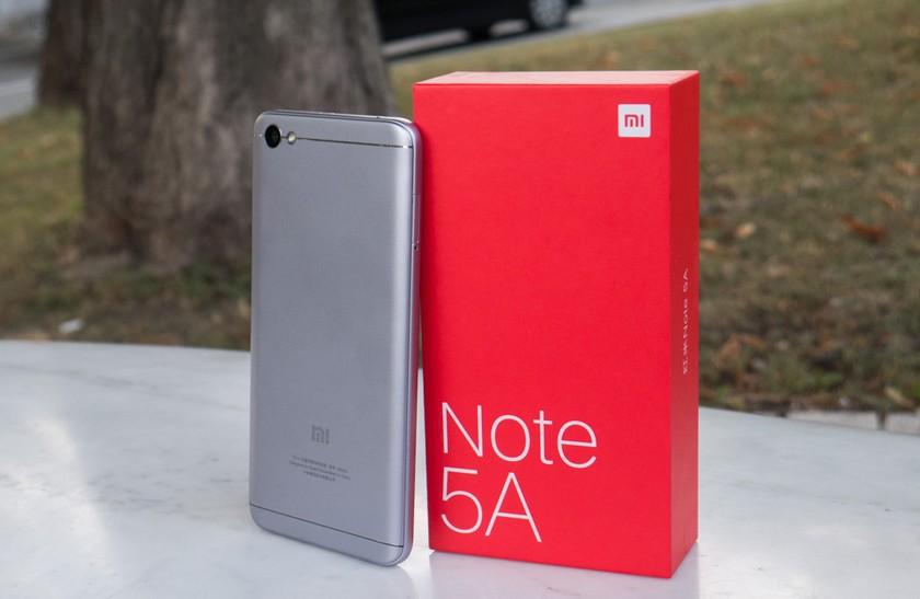 Xiaomi Redmi Note 5A - arriere du smartphone