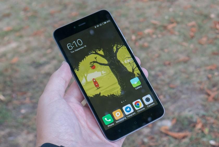 Xiaomi Redmi Note 5A - ecran