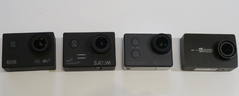 actioncam elephone ele explorer 4k sjcam sj7 sj5000 plus xiaomi yi 4k