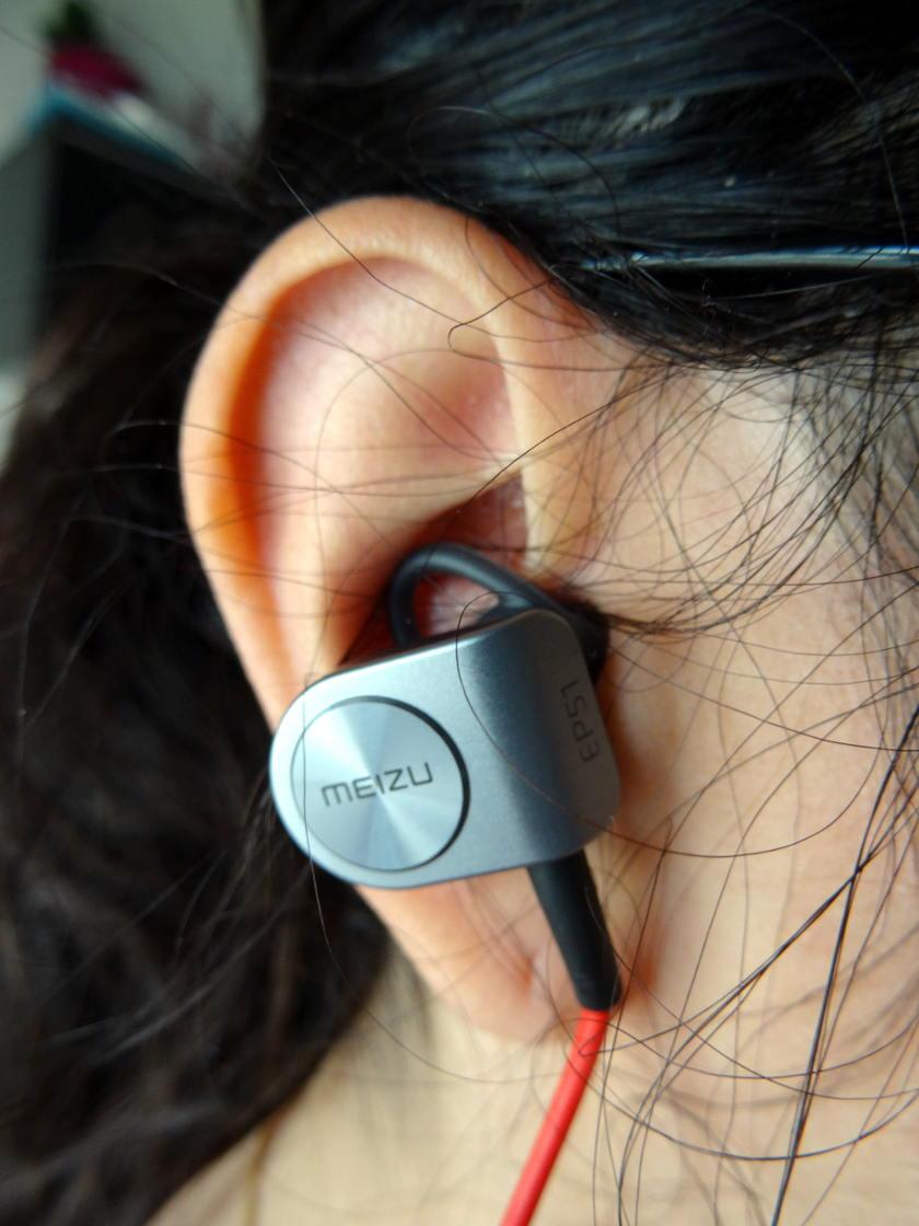 test ecouteur sport bluetooth Meizu EP51 - dans l'oreille