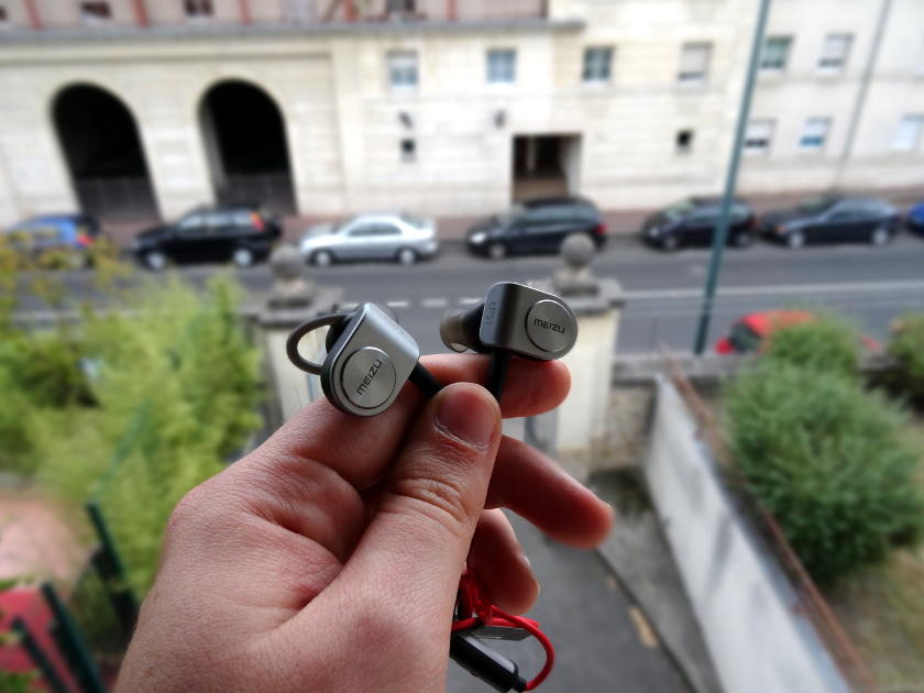 test ecouteur sport bluetooth Meizu EP51 - ecouteurs