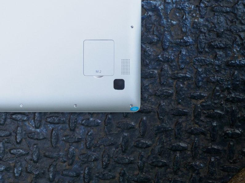 Chuwi-LapBook-air port m2 pour disque SSD