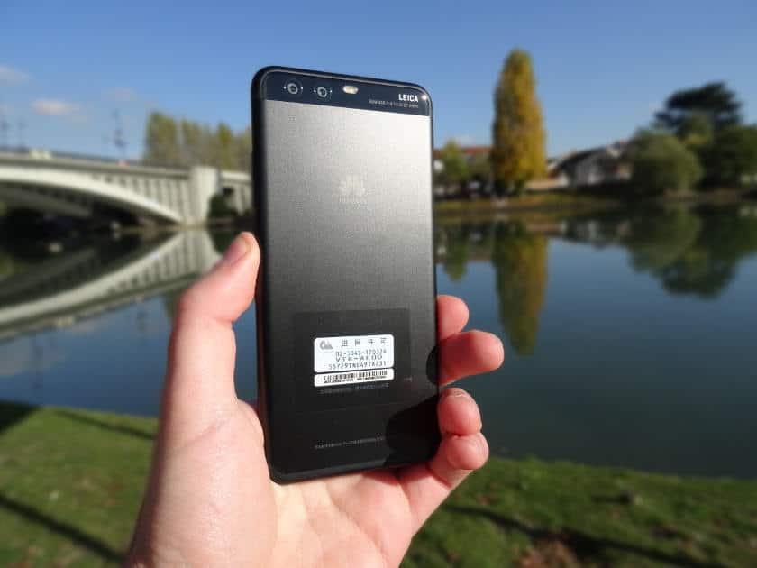 Huawei P10 arriere