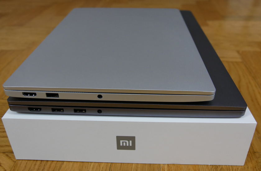 Comparatif Xiaomi Air 13 Xiaomi Mi NoteBook Pro ports 1